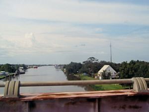 View from top of Intercoastal Canal Bridge