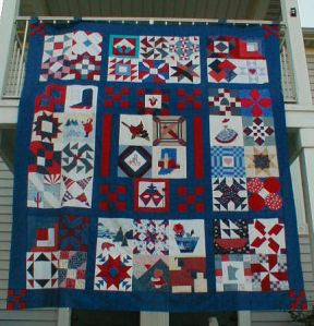 Nifty Fifty 8 Charity Quilt